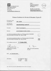Сертификат Mercedes